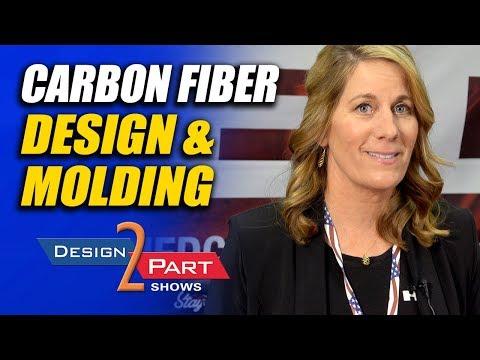 Composite carbon fiber molding & design - a plastic alternative - HED