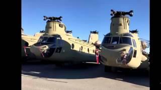 ©Ударные вертолеты AH 64 Apache Военные новости США отправляют в Европу