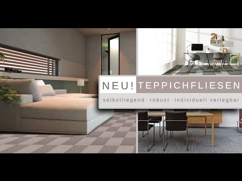 teppichfliesen neu bei youtube. Black Bedroom Furniture Sets. Home Design Ideas