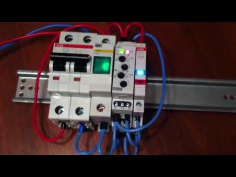 Двойное реле времени SJR-2 UNI на задержку включения для холодильника и морозильника