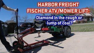 HARBOR FREIGHT Fischer ATV/Mower Lift