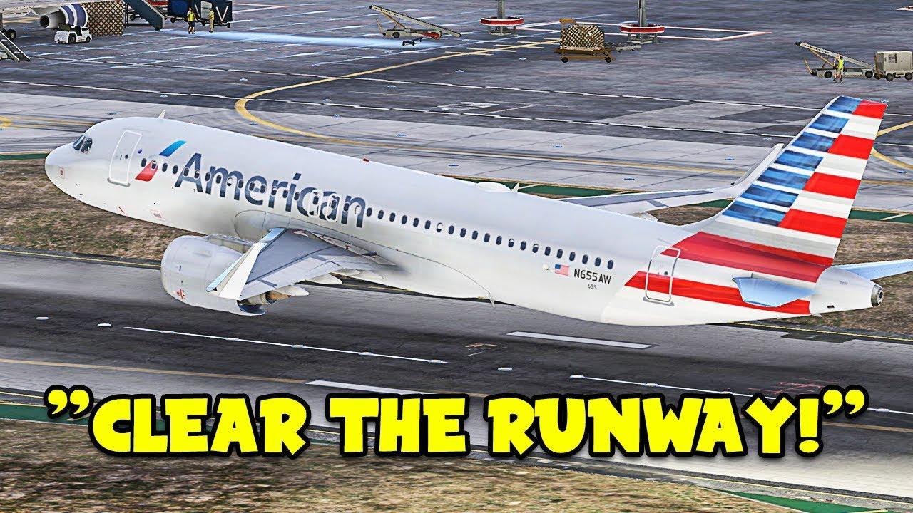 Pilot Lands WITHOUT GEAR in GTA 5 FiveM Flight Simulator - FPVTV