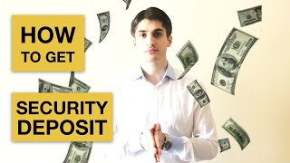 How To Get Security Deposit Back?