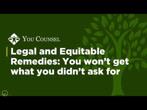 Legal and Equitable