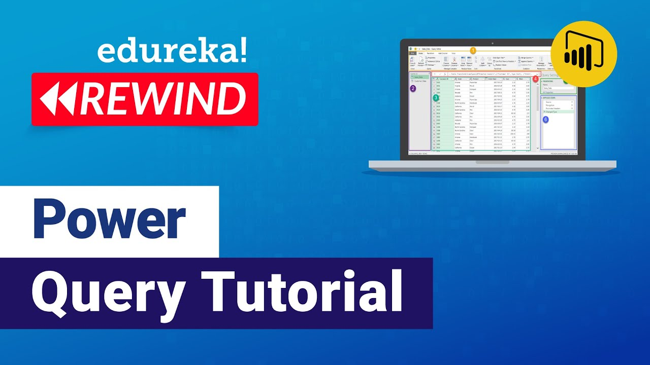 M Language Power Query | Power Query Tutorial | Power BI Training