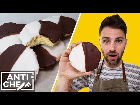 Making New York's Classic Black And White Cookie