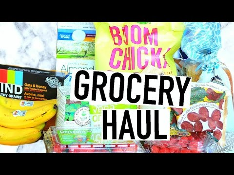 Healthy Grocery Haul! Whole Foods Haul 2016!