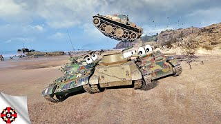 World of Tanks - Funny Moments | PHYSICS FIESTA! (WoT bugs, March 2019)