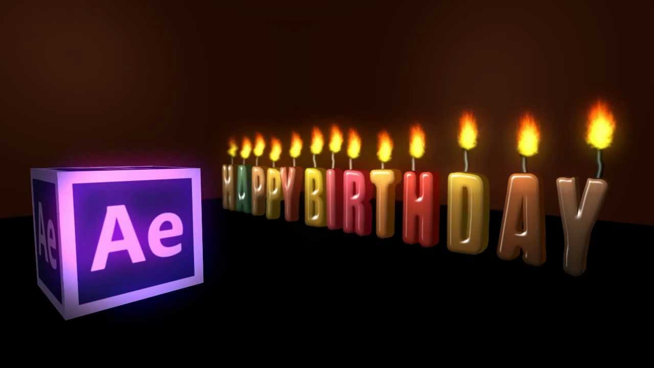 Happy Birthday After Effects   Angie Taylor – Motion graphic design