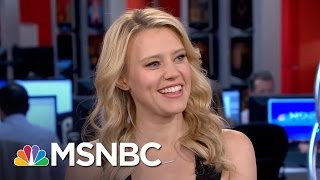 SNL's Kate McKinnon: I Have A Lot In Common With Hillary Clinton | Morning Joe | MSNBC
