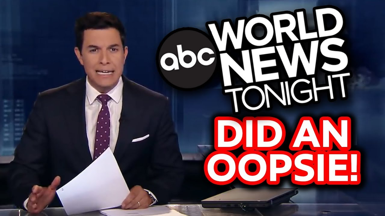 ABC World News Tonight Did An Oopsie!