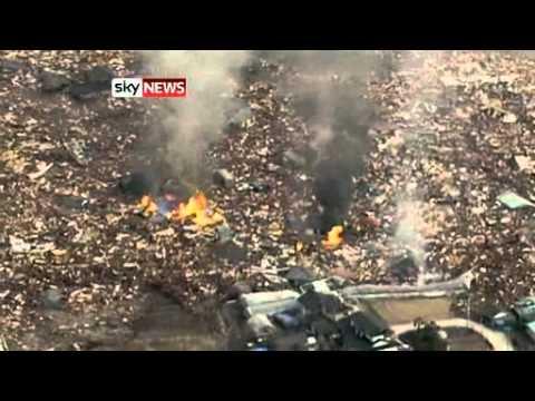Japan Earthquake Tokyo (from SkyNews)