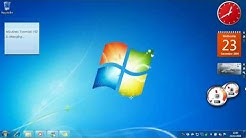 A Quick Look At Windows 7 Professional x64 Retail