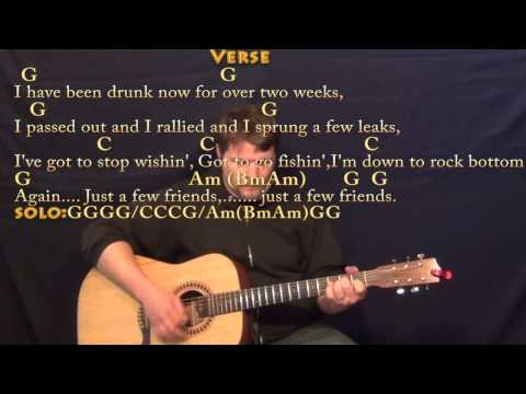 Pirate Looks at 40 (JIMMY BUFFETT) Strum Guitar Cover Lesson with Chords/Lyrics