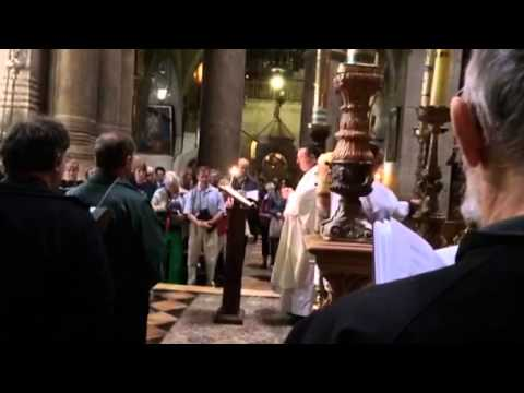 Day 6: Mass at Tomb of Christ