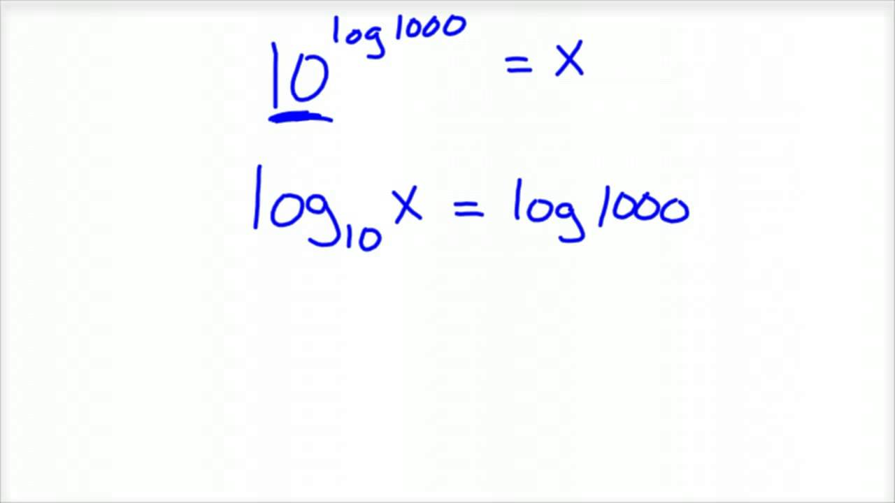 properties of log and ln relationship