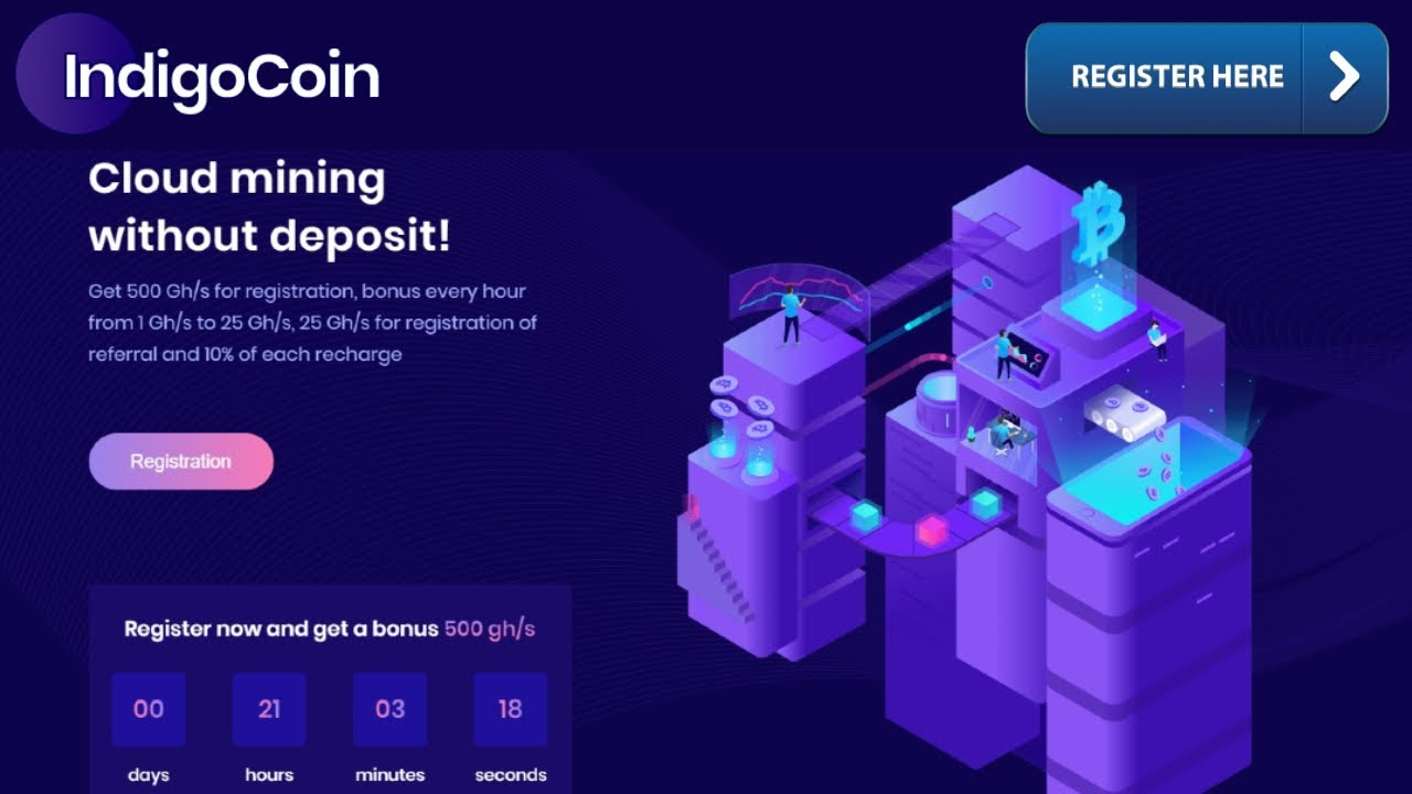 New Free Bitcoin Cloud Mining Site 2020
