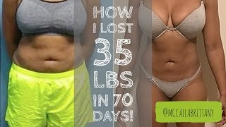 How I Lost 35 Pounds in 70 Days