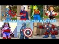 All American Characters in LEGO Games!! 4th of July Special