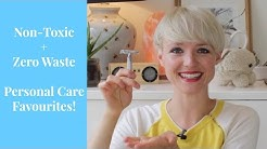 Non-Toxic + Zero Waste Personal Care Faves! | Kate Arnell