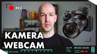 Kamera als Webcam einrichten - Spiegelreflexkamera als Webcam nutzen - DSLR  als Webcam deutsch