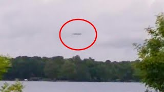 Did Man Film a UFO Hovering Over North Carolina Lake?