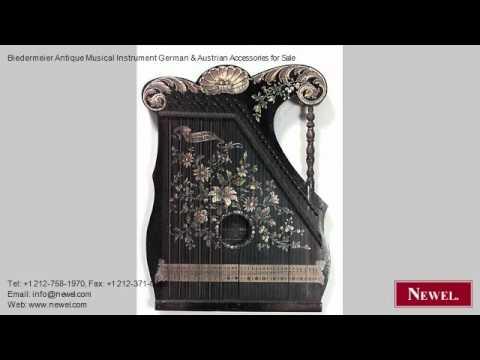 Biedermeier Antique Musical Instrument German & Austrian