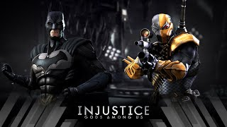 Injustice Gods Among Us - Batman Vs Deathstroke (Very Hard)