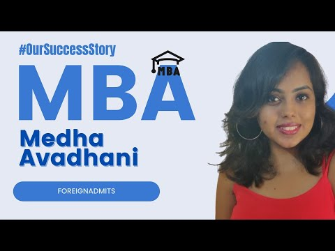 Know how Medha Avadhani recieved a scholarship in Goodman School of Business   ForeignAdmits