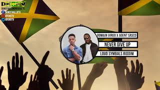 Romain Virgo X Agent Sasco Never Give Up Official Audio ♫dancehall ♫reggae April 2018