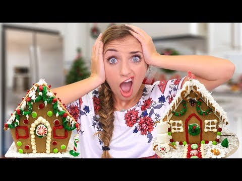 Holiday Gingerbread Challenge REMATCH | 12 Days of Vlogmas Day #4