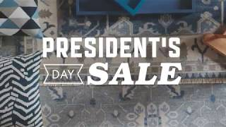 2018 Presidents' Day Sale