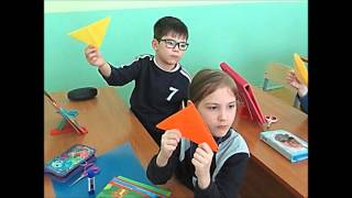 """Урок технологии 1 класс """"В"""" ГБОУ Школа № 1293"""