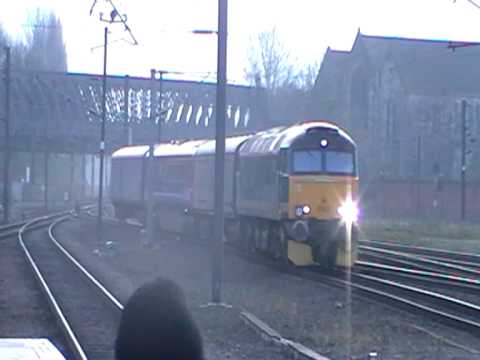 No. 57603 'Tintagel Castle' passes through York