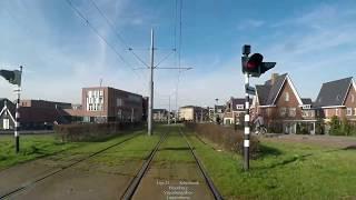 Cabinerit RET tram 25 Route 2017 + Buitendienst rit Remise Beverwaard