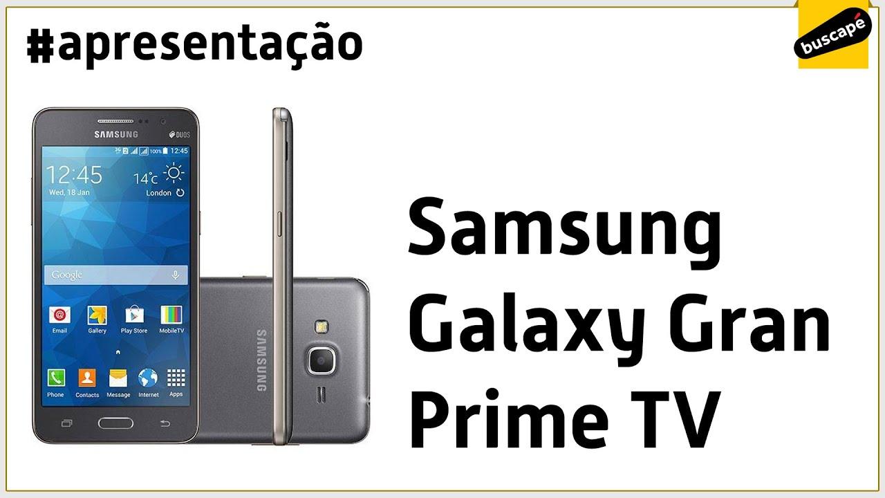c324701a1 Samsung Galaxy Gran Prime TV SM-G531 - Apresentação - YouTube