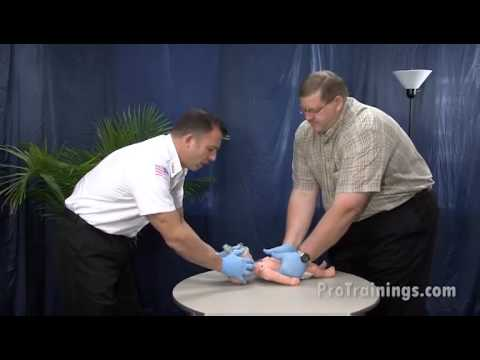 Infant CPR 2 Rescuer