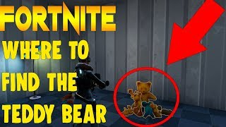 Where To Find The Teddy Bear Daily Quest - Fortnite