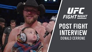 """UFC Ottawa: Donald Cerrone - """"Ya Never Know Which Cowboy's Going To Show Up"""""""