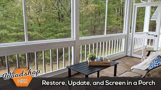 How to Restore Update and Screen in a Porch