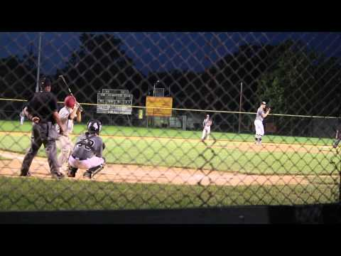 Jake Sadowitz pitching Gallagher Mizuno June 2014 strikeout