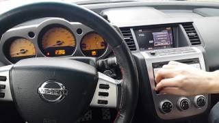 Nissan Murano Z50 (2003-2008) обновление мультимедии на версию 2017
