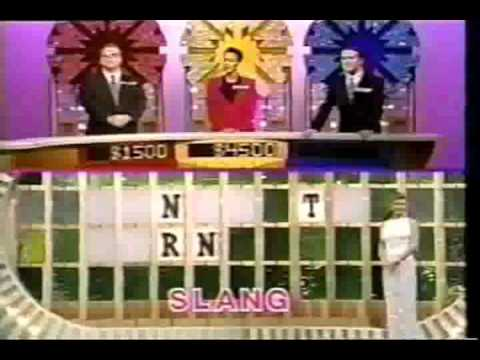 Retro Wheel of Fortune speed-up rounds with 2002 music