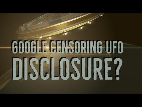 Google Censoring UFO Disclosure? Dr  Steven Greer's CSETI BANNED from Youtube