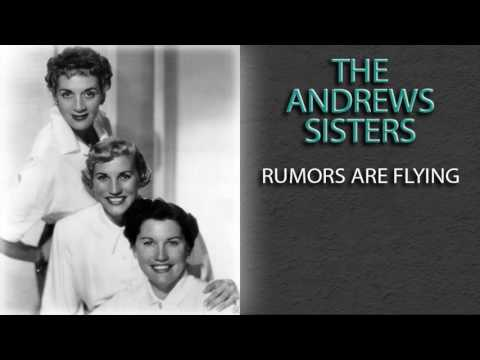 THE ANDREWS SISTERS - RUMORS ARE FLYING mp3