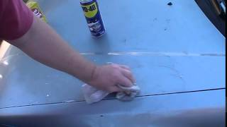 WD-40 and Baking Soda