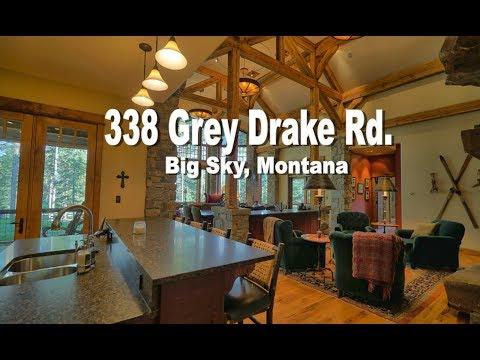 Big Sky Montana Luxury Real Estate For Sale 338 Grey Drake Road Big Sky Properties