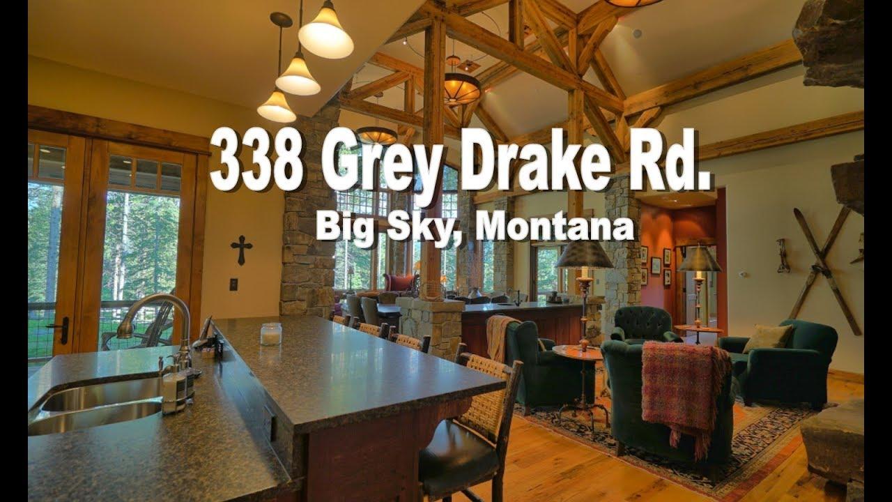 Sky Montana Luxury Real Estate For 338 Grey Drake Road Properties