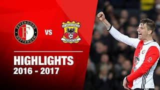 Samenvatting Feyenoord - Go Ahead Eagles 2016-2017