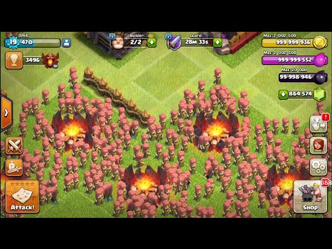 1000 Villagers go on an attack | Clash of Clans | Must Watch